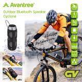 ซื้อ Avantree ลำโพงบลูทูธ กันน้ำ Nfc Sd Card รับสายโทรศัพท์ได้ มีไมค์โครโฟนในตัว สำหรับติดเฟรมจักรยาน ป้องกันละอองน้ำและฝน กำลังขับ10W รุ่น Cyclone Water Resistant Bluetooth Speaker Of Cycling ถูก