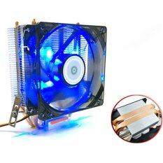 AVC CPU Cooler for AMD intel775 intel115x Blue led