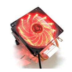 AVC CPU Cooler for AMD intel775 intel115x 12 Red led