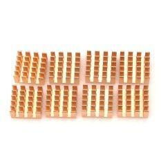 ซื้อ Ave X3 Aluminum Alloy Ram Heat Sinks Golden 8 Pcs Intl ออนไลน์ ถูก