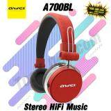 Awei A700Bl Full Size Wireless Headset Stereo Hifi Music Headphones ใหม่ล่าสุด