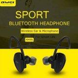 ซื้อ Awei A840Bl Neckband Earphone Wireless Sports Bluetooth A840 Headphone Headset หูฟังไร้สาย บลูทูธ สีดำ Black ถูก