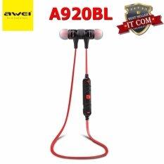 ขาย Awei A920Bl หูฟังบลูทูธ Wireless Smart Sport Stereo Awei