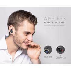 ซื้อ Awei หูฟังบลูทูธ สเตอริโอ Airpods Style รุ่น T1 สีดำทอง Awei เป็นต้นฉบับ