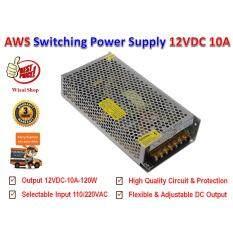 ทบทวน Dc สวิตชิ่งเพาเวอร์ซัพพลาย Switching Power Supply 12V 10A รุ่น S 120 12 Advance Ws