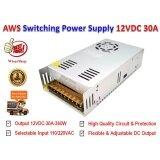 ขาย Dc สวิตชิ่งเพาเวอร์ซัพพลาย Switching Power Supply 12V 30A รุ่น S 360 12 Advance Ws