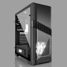Azza Atx Mid Tower Case Titan 240 Csaz-240 - Black By Linkworld Electronic (thailand) Co.,ltd..