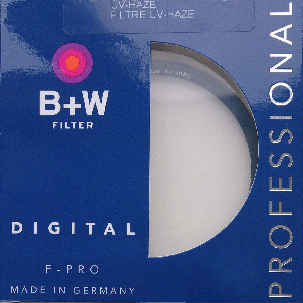 B+W 62 mm UV HAZE 010 F-PRO Filter – Brass Coated Made In Germany