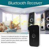 ราคา ราคาถูกที่สุด B6 2 In 1 Bluetooth Transmitter Receiver Wireless A2Dp Bluetooth Audio Adapter Portable Audio Player Aux 3 5Mm Black Intl