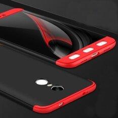 ราคา Bakeey 3 In 1 Double Dip 360° Full Protection Hard Pc Cover Case For Xiaomi Red Mi Note 4X Intl เป็นต้นฉบับ
