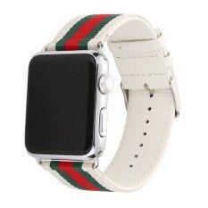 ราคา Band For 38Mm 42Mm Watch Mortree Replacement Sport Strap Nylon With Genuine Leather Wrist Band For Watch Series 3 Series 2 Series 1 Men Women 38Mm 42Mm Wafeel ออนไลน์