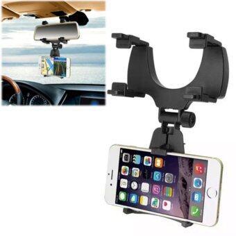 BAOFENG iMount ที่วางโทรศัพท์ในรถ ที่จับโทรศัพท์ในรถ แบบติดกระจกมองหลัง ที่จับมือถือในรถ รุ่น c5