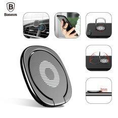 ทบทวน ที่สุด Baseus 360 Finger Ring Desk Stand Holder Fit For Magnetic Car Bracket Luxury Phone Holder Stand Intl