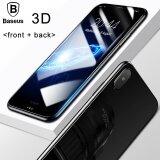 ทบทวน Baseus 3D Round Curved Front Back Edge Screen Protector For Apple Iphone X Black Intl Baseus