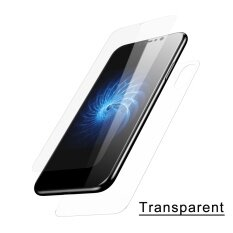 ส่วนลด Baseus 3D Round Curved Front Back Edge Screen Protector For Apple Iphone X Transparent Intl Baseus ใน สมุทรปราการ