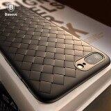 โปรโมชั่น Baseus Grid Weaving Case For Iphone 8 Plus 5 5Inch Ultra Thin Soft Bv Protective Breathable Cover Shockproof Intl Baseus