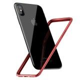 ราคา Baseus For Iphone X Border Frame Cover Bumper Case Luxury Coque Ultra Thin Pc Soft Tpu For Iphonex Protection Phone Capinha Intl Baseus ใหม่