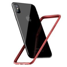 ราคา Baseus For Iphone X Border Frame Cover Bumper Case Luxury Coque Ultra Thin Pc Soft Tpu For Iphonex Protection Phone Capinha Intl ใหม่ล่าสุด