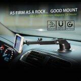 ซื้อ Baseus Solid Series 360° Rotation Telescopic Magnetic Phone Car Mount Stand Silver Intl Baseus เป็นต้นฉบับ