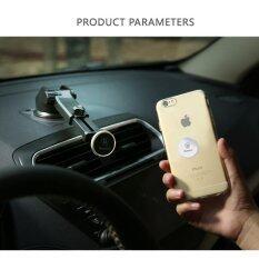 ราคา Baseus Solid Series Telescopic Magnetic Smartphone Car Mount Bracket 360° Rotation Gold Intl ออนไลน์ จีน
