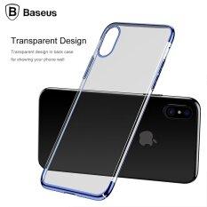 ซื้อ Baseus บางเฉียบชุบแข็งเคสสำหรับ Iphone X นานาชาติ ถูก