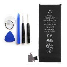 ราคา ราคาถูกที่สุด Battery Iphone5S New แบตไอโฟน5เอส พร้อมเครื่องมือ 1560Mah 3 8V Li Ion Polymer Internal Battery Replacement With Tools Kit For Iphone 5S