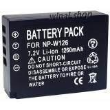 ส่วนลด แบตเตอรี่กล้อง รหัสแบต Np W126 Npw126 1260Mah แบตกล้องฟูจิFuji For Fuji Replacement Battery For Fujifilm แบตเตอรี่ Spa สำหรับกล้อง X Pro1 X E1 X M1 X M2 X A1 X A2 X E2 X T1 Finepix Hs30Exr 35Exr X T10 Black By Winai Shop For Fuji