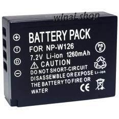 ส่วนลด แบตเตอรี่กล้อง รหัสแบต Np W126 Npw126 1260Mah แบตกล้องฟูจิfuji For Fuji Replacement Battery For Fujifilm แบตเตอรี่ Spa สำหรับกล้อง X Pro1 X E1 X M1 X M2 X A1 X A2 X E2 X T1 Finepix Hs30Exr 35Exr X T10 Black By Winai Shop For Fuji Thailand
