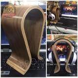 โปรโมชั่น Bb Shop ที่แขวนหูฟัง ที่วางหูฟัง ขาตั้งหูฟัง แท่นวางหูฟัง แท่นโชว์หูฟังแบบไม้ Wooden Headphones Stand Hanger Holder นนทบุรี