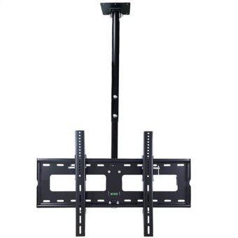 BDEE ชุดขาแขวนทีวี LCD LED ขนาด 42-60 นิ้ว รุ่น C3 (แบบติดเพดาน ปรับก้มได้ หมุนได้) (Black)