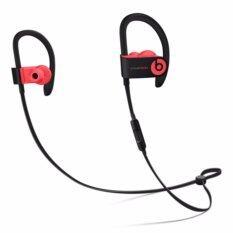 Beats หูฟังออกกำลังกายไร้สาย Beats By Dre รุ่น Powerbeats3 Wireless red สีแดง Bluetooth กันเหงื่อ ประกันศูนย์ไทย เบสหนักถึงใจ