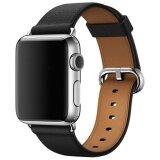 ขาย Beautymaker Luxury Genuine Leather Watch Strap Bracelet Wrist Band For Apple Watch Iwatch 42Mm Black Intl Unbranded Generic ใน สมุทรปราการ