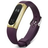 Beautymaker New Replacement Sports Silicone Wrist Watch Band Strap For Xiaomi Mi Band 2 1 Intl ใหม่ล่าสุด