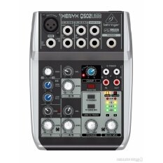Behringer : XENYX-Q502USB (มิกเซอร์ ขนาด 5 Input พร้อม USB/Audio Interface)