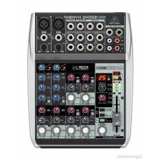 Behringer : XENYX-QX1002USB (มิกเซอร์ ขนาด 10 Input พร้อม USB/Audio Interface)