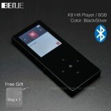 ทบทวน Benjie K8 8Gb Bluetooth Mp3 Music Player Touch Screen Metal Mp3 E Book Fm Radio Recorder Support 128Gb Tf Card Wire Control Intl