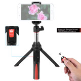 Benro Mk10 Handheld Extendable Mini Tripod Selfie Stick With Bluetooth Remote Control Shutter For Ios Iphone 5S 6S 6S Plus Android Smartphone Cellphone For Gopro Intl เป็นต้นฉบับ