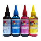 โปรโมชั่น Best Ink Epson น้ำหมึกเติมรุ่น L100 L101 L110 L111 L120 L130 L132 L200 L201 L210 L211 L220 L222 4 สี สีดำ ฟ้า แดง เหลือง Best Ink ใหม่ล่าสุด