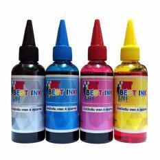 Best Ink Epson น้ำหมึกเติมรุ่น L300/L301/L303/L310/L312/L350/L351/L353/L355/L358/L360/L362/L365/L366 4 สี (สีดำ,ฟ้า,แดง,เหลือง)