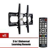โปรโมชั่น Best Seller Vrn Hd 3455Bt ขาแขวนทีวี Lcd Led Tv 32 60 นิ้ว ฟรี 3 In1 Universal Learning Remote Ih Mini86E ใน ไทย