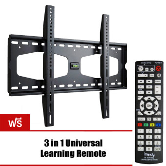 Best Seller VRN-HD ขาแขวนทีวี LCDLED TV 40 - 60 นิ้ว EXTRA SLIM รุ่น T3000B (แถมฟรี 3 in1 Universal Learning Remote IH-Mini86E)
