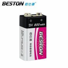 โปรโมชั่น Beston ถ่านชาร์จ 9V 800 Mah Nimh Rechargeable Battery1ก้อน ถูก