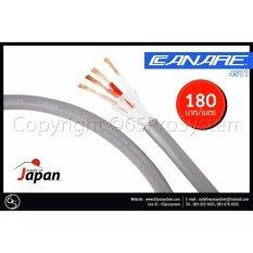 ราคา สายลำโพง Bi Wire Canare 4S11 Star Quad 4 Core Made In Japan ความยาว 2 เมตร ใหม่ล่าสุด