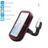 ซื้อ Bike Mount Universal Case Motorcycle Mount Handlebar Holder Bag Waterproof Phone Case Sand Dirt Resistant With Access Hole And Card Slots For Smartphone L Intl Feiku ถูก