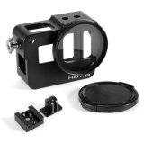 ราคา Black Aluminum Alloy Protective Frame Housing Case Mount 52Mm Uv Filter For Gopro Hero 5 Unbranded Generic ใหม่