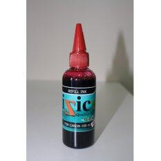 Black Box Toner IZIC REFILL INK  หมึกน้ำ (สีแดง สำหรับ CANON) ขนาด 100ml.