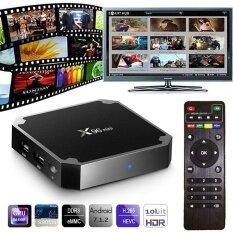 โปรโมชั่น Black Hd X96 Digital Set Top Mini Box Tv High Compatible Remote Control Intl Alphun ใหม่ล่าสุด