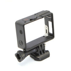 ราคา Black Standard Frame Border Housing Case Cover Mount For Sports Action Cameras Intl ใหม่ล่าสุด