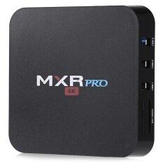 ขาย Black Uk Plug Mxr Pro Rk3328 Quad Core Android 7 1 Tv Box 4K 4Gb Ddr3 32Gb Emmc Intl ผู้ค้าส่ง