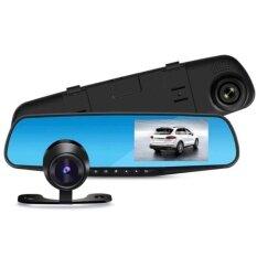 ขาย Blackbox Dvr กล้องติดรถยนต์ Car Dvr Full Hd 1080P กล้องหน้า กระจกมองหลังในตัว เป็นต้นฉบับ